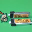 Tuning für den Blade mCPX durch einen Booster von Li-Polar